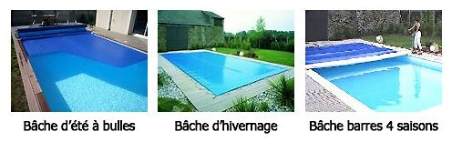 Baches piscine bche piscine with baches piscine great for Nettoyer bache piscine