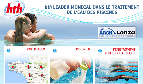 Chimie-piscine hth Fournisseur TEXIPOOL Baches-piscine