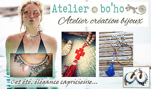 Bijoux boho création boho-sud Partenaire Texipool baches-piscine