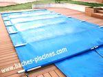 couverture piscine à la norme sécurité