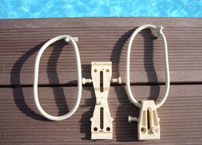 fixation coulissante bâche piscine