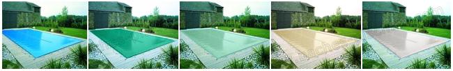 Coloris bache hiver piscine