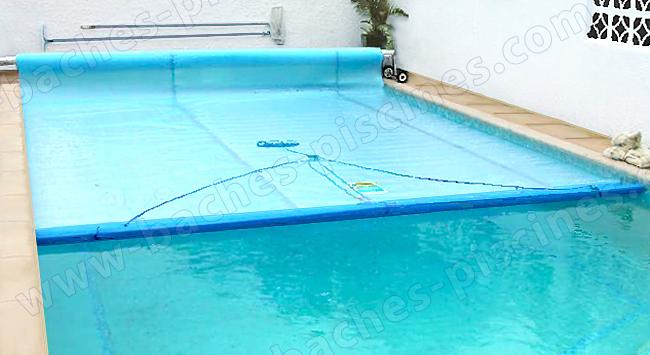 Baches piscines le blog du n 1 de la b che de piscine Fabriquer un enrouleur de piscine