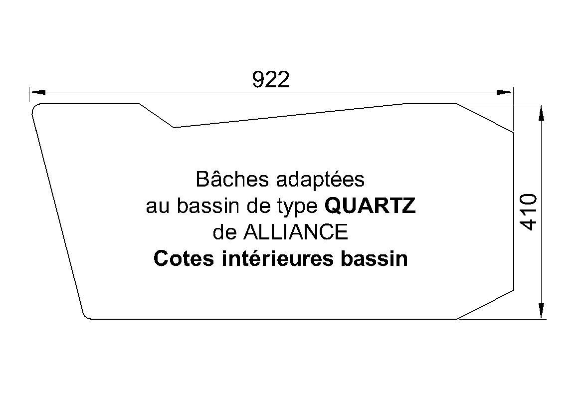 BACHE POUR PISCINE Quartz ALLIANCE PISCINES