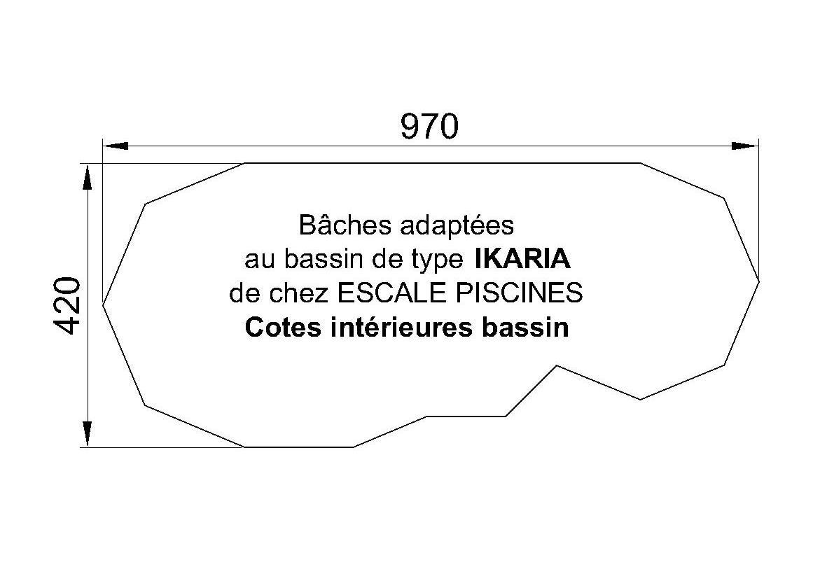 BACHE PISCINE IKARIA PID