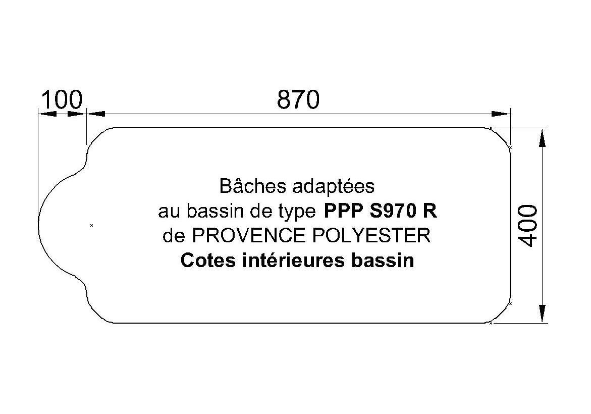 Bâches Adaptées S 970R P.P.P
