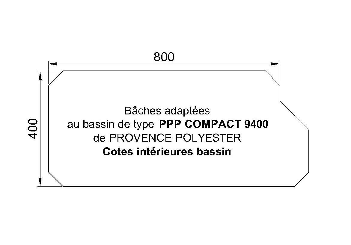 Bâches Adaptées Compact 9400 P.P.P.