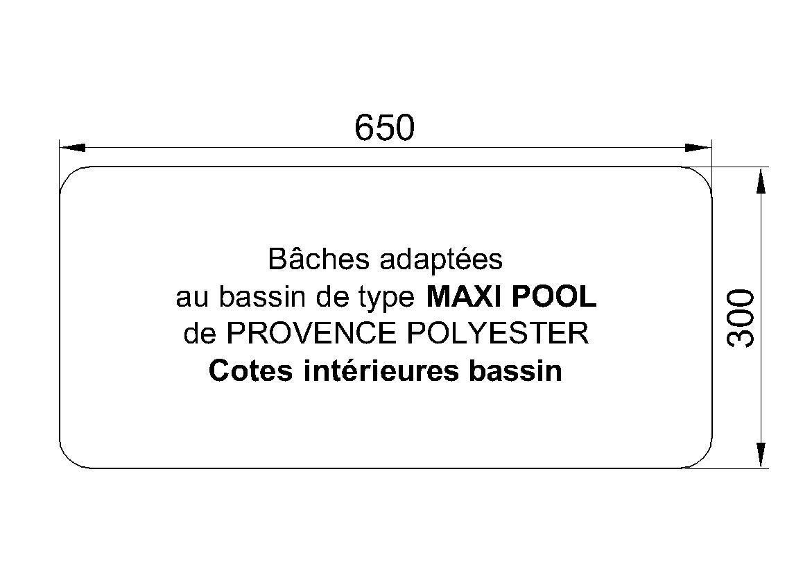 Bâches Adaptées Maxi Pool P.P.P.