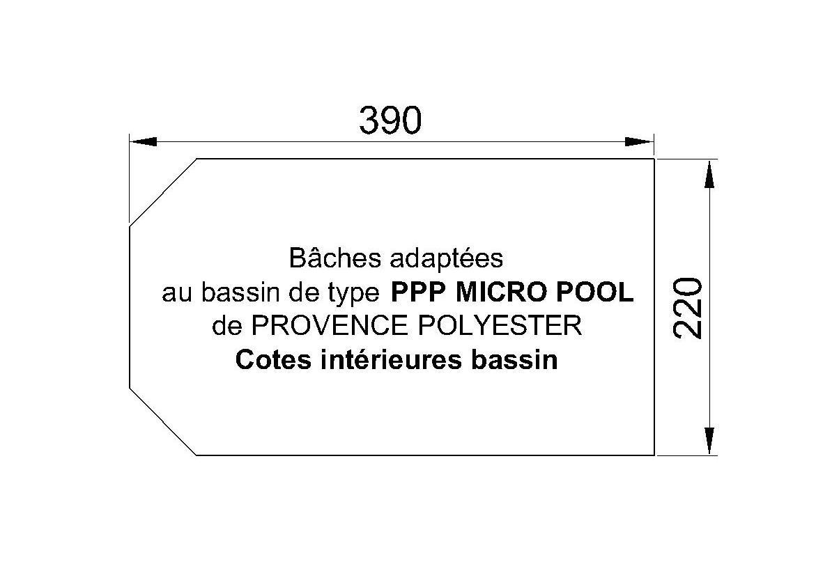 Bâches Adaptées Micro Pool P.P.P.