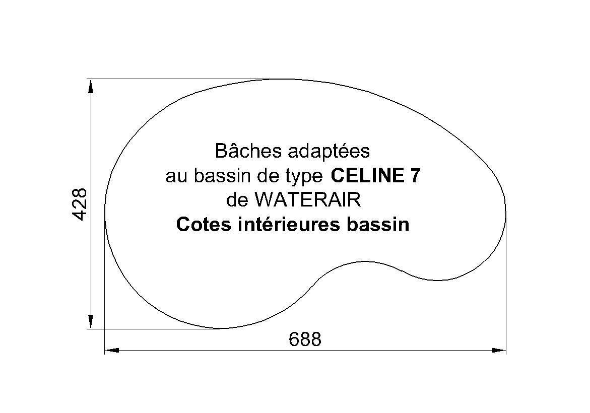 BACHE PISCINE CELINE 7