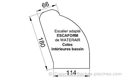ESCALIER ESACAFORM WATERAIR