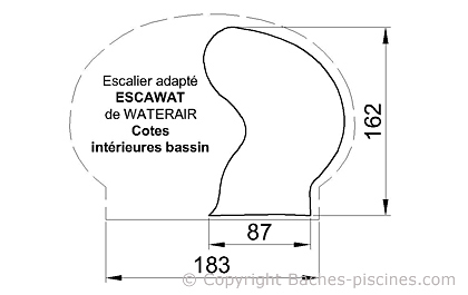 ESCALIER ESCAWAT WATERAIR