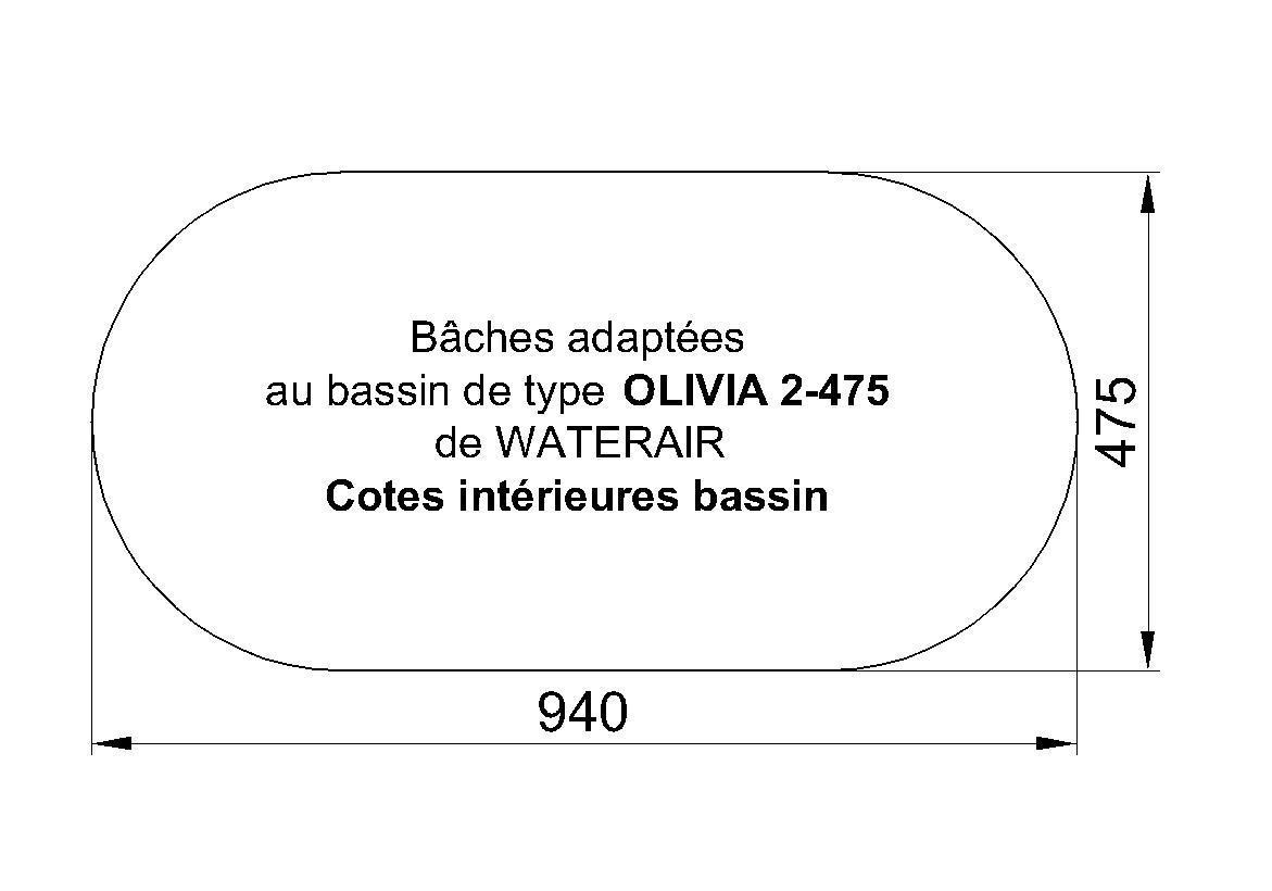 Olivia 2 475 Waterair Piscines