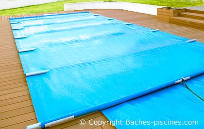 patin de protection de margelle de piscine pour bache. Black Bedroom Furniture Sets. Home Design Ideas