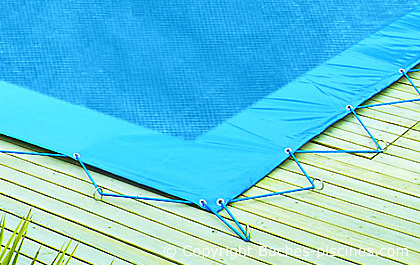 Bache hiver filet couverture filet bache de piscine for Bache filet piscine