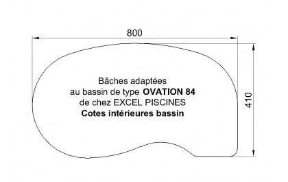 Ovation 84 piscine Excell