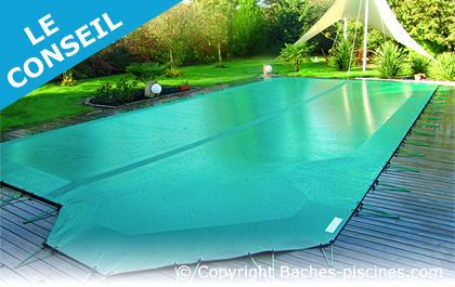bache de piscine hiver opaque de s curit baches. Black Bedroom Furniture Sets. Home Design Ideas