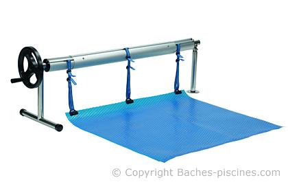 Enrouleur piscine rotatif bassin octogonale for Piscine 24 pieds