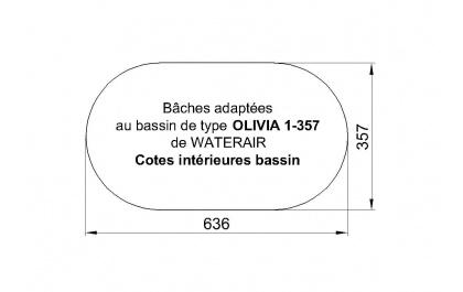 OLIVIA 1/357 WATERAIR Piscines
