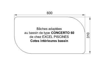 Concerto 60 piscine Excell