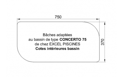 Concerto 75 piscine Excell