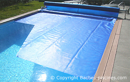 Bache piscine great resistance bache barre bache securite for Resistance chauffante pour piscine