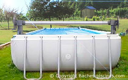 piscine tubulaire 8x4