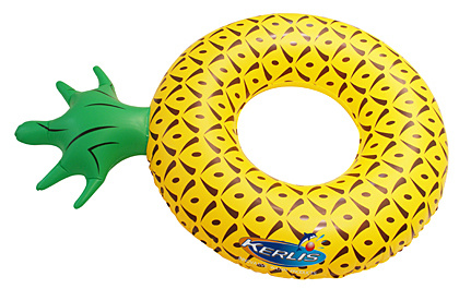 ananas gonflable piscine