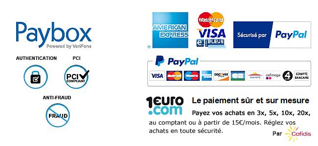 Paiement sécurisé par Paybox