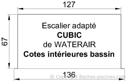 ESCALIER waterair cubic