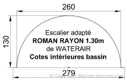 ESCALIER ROMAN WATERAIR