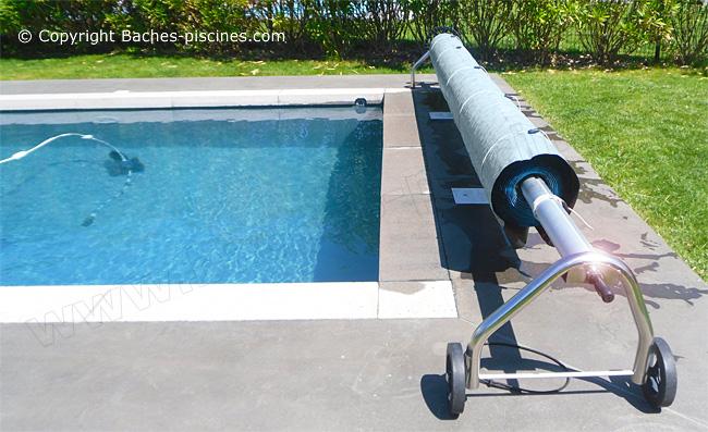 Protection UV pour bache été piscine