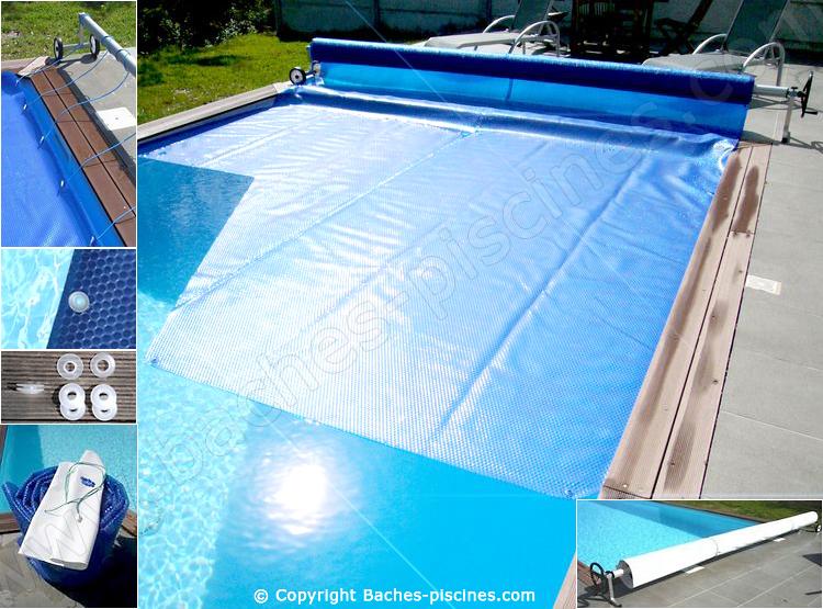 Oeillets pour couverture été piscine