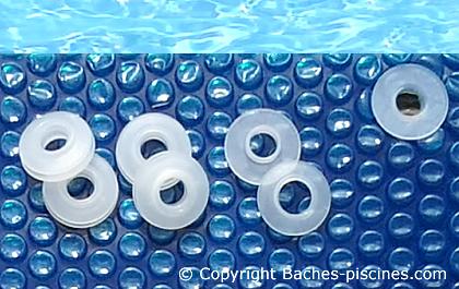 Bache piscine 8x4 excellent best bache piscine for Attache pour bache a bulle