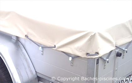 remorque bache bagagère sur-mesure