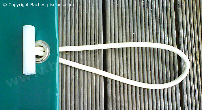 Fixation couverture hiver piscine sandow
