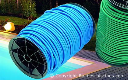Esta poolshop Set 12 x Fixation Tuyau//Eau Piscine Bâche d/'hiver