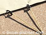 Sandow 2 EMBOUTS bache d'hiver