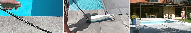 Enroulement facile bâche piscine