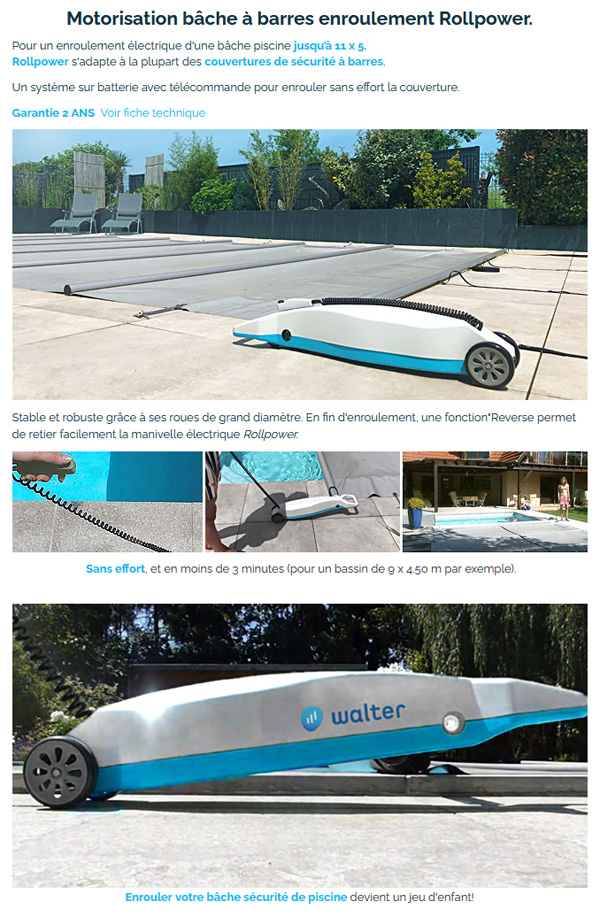 Rollpower Walter descriptif
