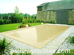 Couleur filet BEIGE piscine
