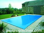 Couleur filet BLEU piscine