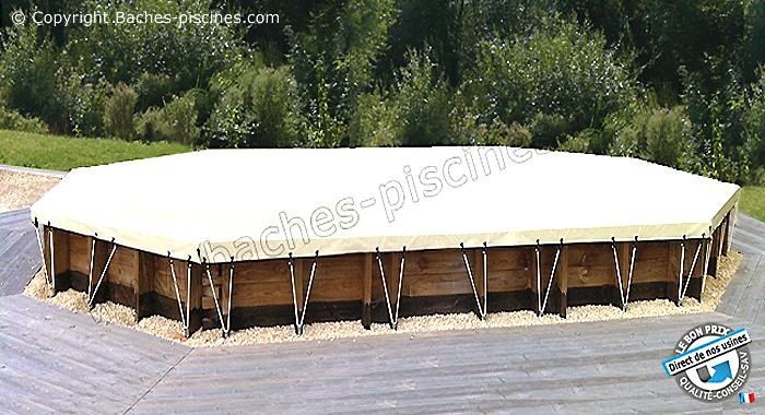 Couverture bache de piscine hors sol prix direct usine for Produit d hivernage pour piscine