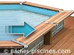 bache a barres pour piscines hors sol baches. Black Bedroom Furniture Sets. Home Design Ideas