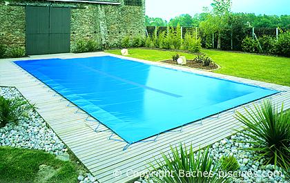 Couverture hivernage for Bache piscine prix
