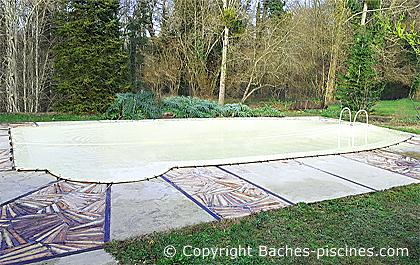 couverture hivernge piscine Desjoyaux