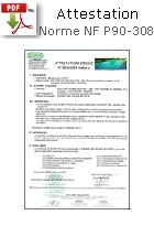 certificat sécurité piscine