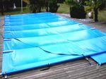 Bache barre piscine