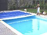 ENLEVERbache piscine