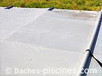 Bache piscine octogonale sécurité